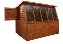 Oxford style shed